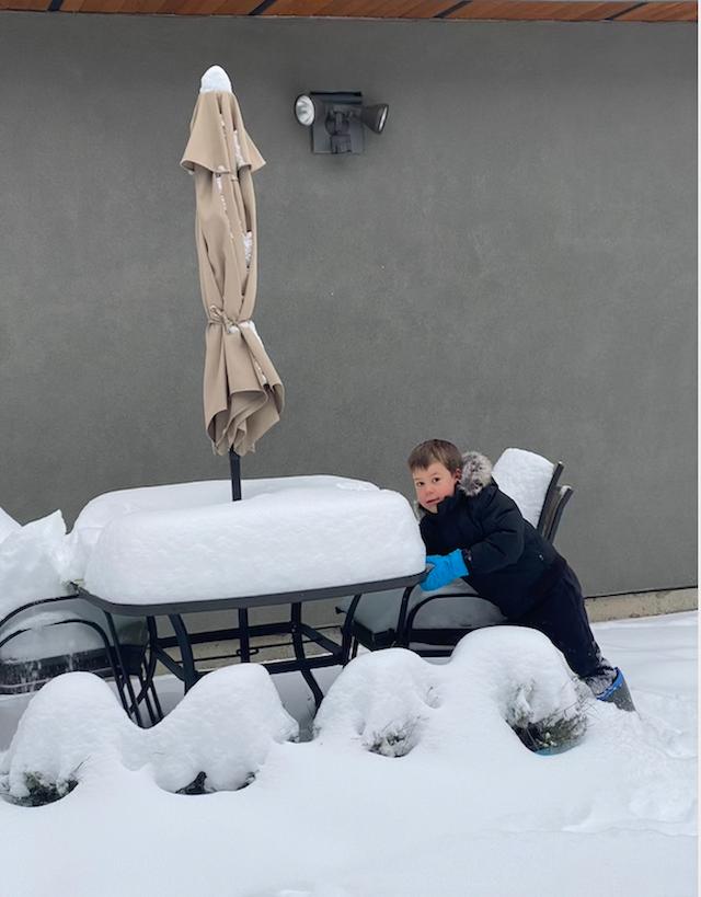 Vancouver Snow Storm January 2020